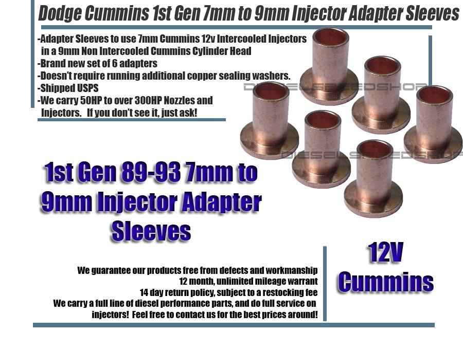 9mm to 7mm head swap [Archive] - Cummins 4BT & Diesel Conversions Forums
